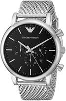 Emporio Armani Men's AR1808 Dress Silver Watch
