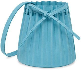 Mansur Gavriel Mini Pleated Bucket Bag - Laguna