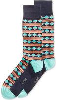Alfani Spectrum Diamond Print Single Dress Socks
