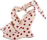 Dolce & Gabbana Polka Dot Platform Wedges