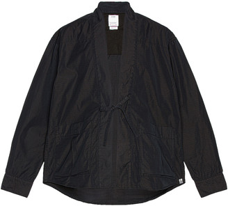 Visvim Lhamo Shirt Mil in Black | FWRD