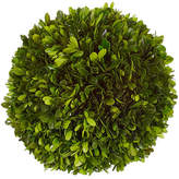 "Winward Silks 10"" Boxwood Ball - Dried"