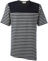 Marni striped T-shirt - men - Virgin Wool - 46