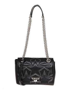 Jimmy Choo Shoulder Helia / S In Matelasse Nappa black Color