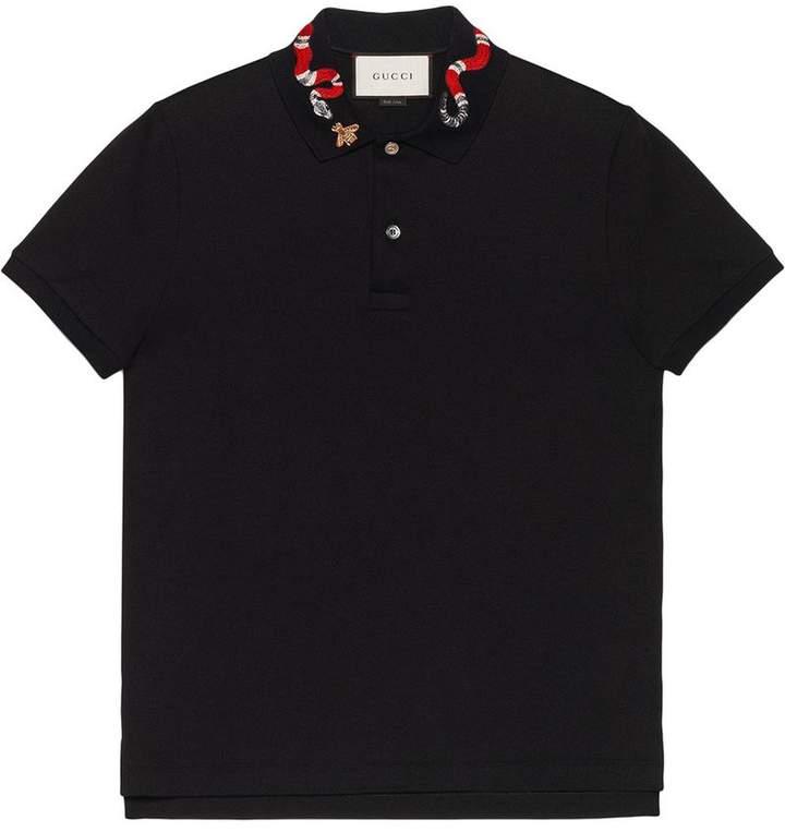 6ba6bf77 Gucci Men's Polos - ShopStyle