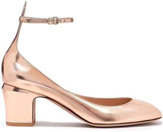 Valentino Garavani Tango Metallic Leather Pumps