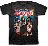 Novelty T-Shirts Wrestlemania Ring Short-Sleeve Graphic Tee