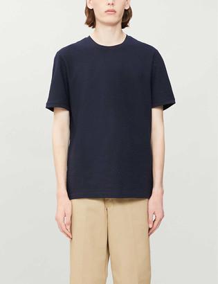 Ted Baker Textured cotton-jersey T-shirt