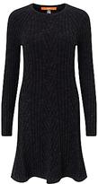 HUGO BOSS BOSS Orange Willabelle Knitted Dress, Black