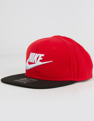 Nike True Limitless Little Boys Red Snapback Hat (4-7)