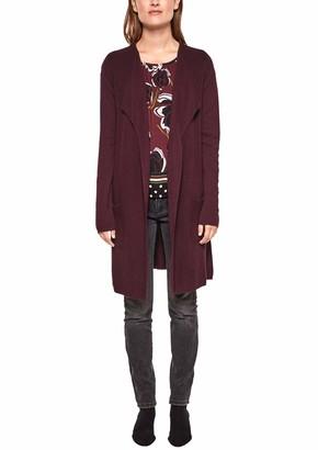 S'Oliver BLACK LABEL Women's 11.808.64.2016 Regular Fit Long Sleeve Cardigan