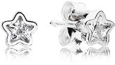 Pandora Stud Earrings - Sterling Silver & Cubic Zirconia Starshine
