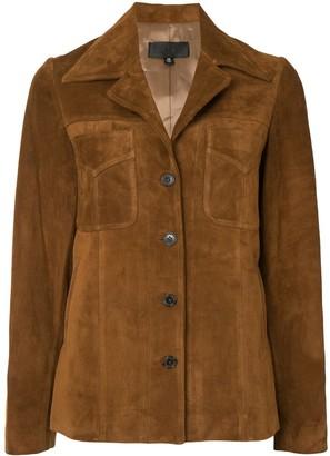 Nili Lotan Suede Leather Jacket