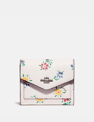 Coach Small Wallet With Wildflower Print