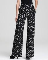 Derek Lam 10 Crosby Pants - Polka Dot Wide Leg