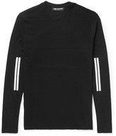Neil Barrett - Striped Cotton-jersey T-shirt