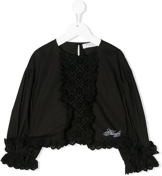 Philosophy Di Lorenzo Serafini Kids Embroidered Detail Blouse