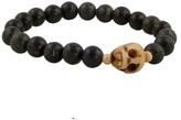 Tyler Mackenzie Designs Skull and Silver Bead Bracelet