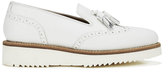 Grenson Women's Kat Leather Tassel Loafers White