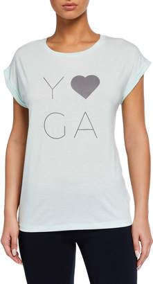 Marc Ny Performance Dolman-Sleeve Yoga Graphic Tee