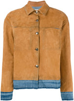 Golden Goose Deluxe Brand Bernhardt jacket - women - Cotton/Leather - XS