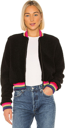 Spiritual Gangster Everything SG Furry Bomber Jacket