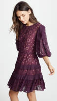 Rebecca Taylor Short Sleeve Pinwheel Dress