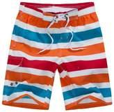 SUNVP Men's Colorblock Summer Cargo Board Shorts Swim Surf Trunks