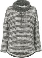 Thakoon striped pattern oversized sweater