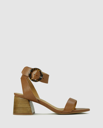 EOS Women's Brown Heeled Sandals - Statty - Size One Size, 39 at The Iconic