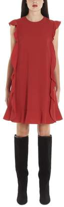 RED Valentino Ruffled Midi Dress