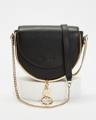 See by Chloe Women's Black Leather bags - Mara Evening Cross Body Bag - Size One Size at The Iconic