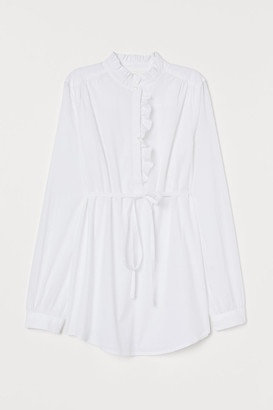 H&M MAMA Cotton blouse