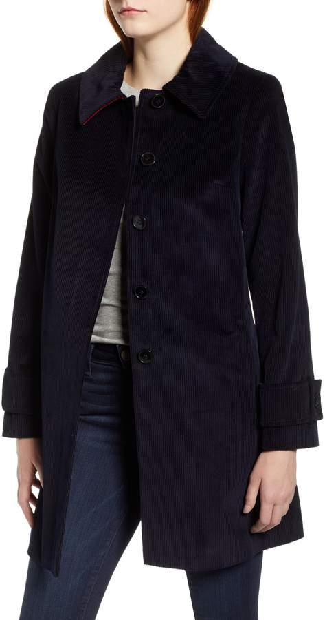 Helene Berman Corduroy Swing Coat