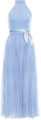 Zimmermann Super Eight Picnic Dress in Blue/Cream Spot