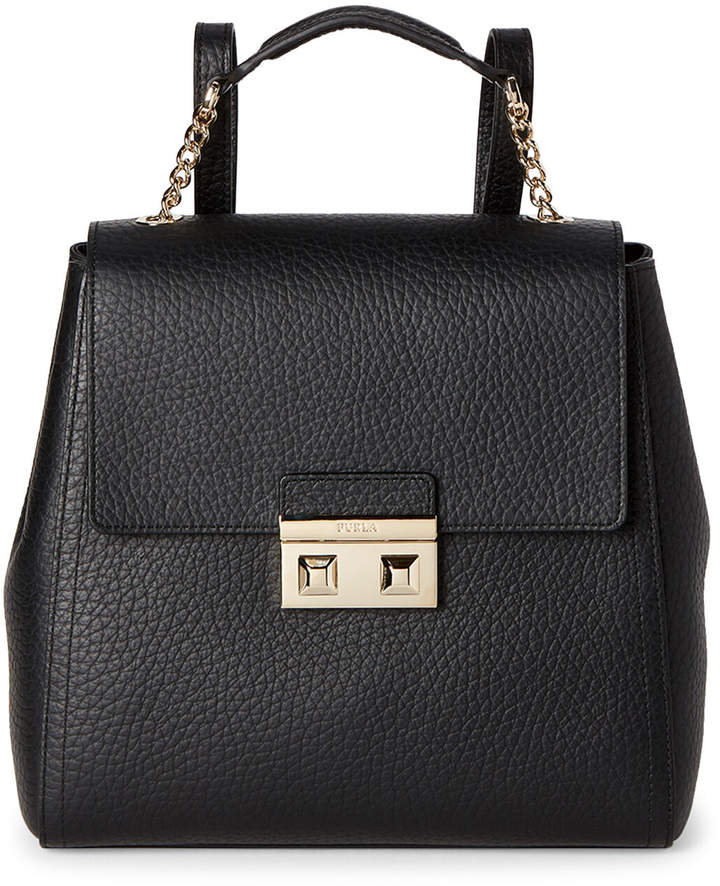 Furla Onyx Bella Leather Backpack