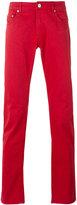 Pt01 slim-fit trousers - men - Cotton/Spandex/Elastane - 30