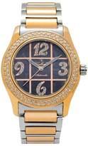 Gallucci Women's WT22029SK/SSB(B)RG-B Swarovski Crystals Automatic Watch with Rose Gold Band