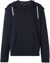 Maison Margiela oversize hooded sweatshirt - men - Cotton - 48