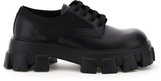 Prada Monolith Lace-Up Shoes