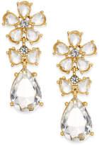Kate Spade 14k Gold-Plated Flower Drop Earrings