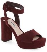 Miu Miu Women's 'Sandali' Ankle Strap Sandal