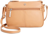 Giani Bernini Nappa Leather Crossbody, Only at Macy's