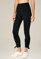 Bebe Wrap Tie High Rise Leggings