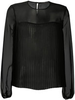 Max Mara Ferro sheer blouse