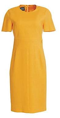 Akris Women's Zip Waistband Sheath Dress