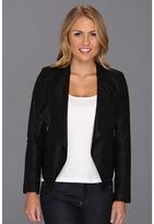 BB Dakota Chanelle Leather (Black) - Apparel
