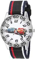 Disney Boy's 'Cars' Quartz Plastic and Nylon Casual Watch