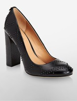 Calvin Klein Junie Leather Pump