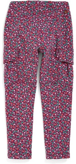 Tea Collection 'Blumen' French Terry Cargo Pants (Toddler Girls, Little Girls & Big Girls)